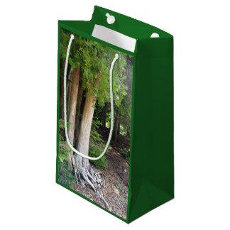 Sacola Para Presentes Pequena Trajeto de floresta