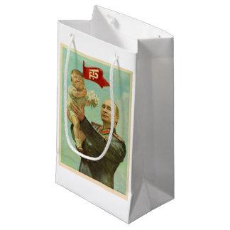 Sacola Para Presentes Pequena Trunfo do bebê com o saco do presente de Putin