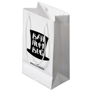 Sacola Para Presentes Pequena Um saco do presente de época natalícia da farsa de