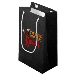 Sacola Para Presentes Pequena Vaia no saco do favor de partido do Dia das Bruxas