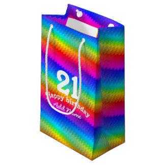 Sacola Para Presentes Pequena Viga do arco-íris