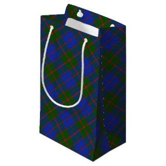 Sacola Para Presentes Pequena Xadrez de Tartan escocesa clássica do clã modelada