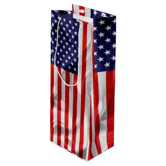 Sacola Para Vinho A bandeira dos Estados Unidos da América