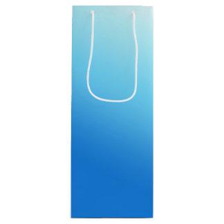 Sacola Para Vinho Azul-céu