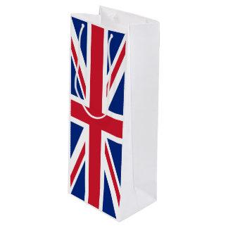 Sacola Para Vinho Bandeira de Reino Unido