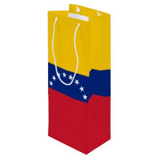 Sacola Para Vinho Bandeira de Venezuela