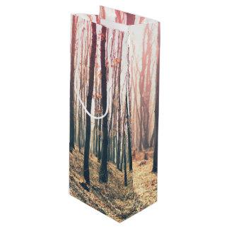 Sacola Para Vinho Floresta desencapada