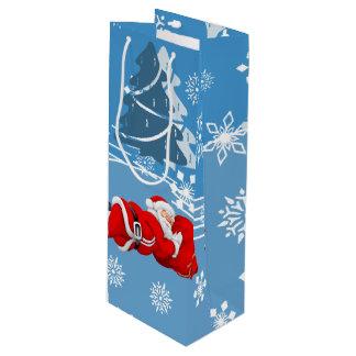 Sacola Para Vinho Natal
