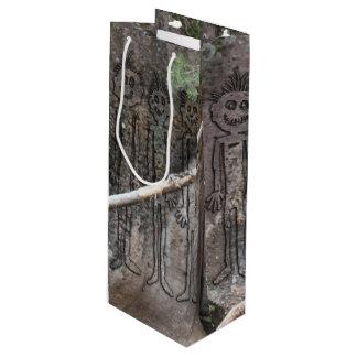Sacola Para Vinho Noite do Petroglyph de passeio de Gigglers