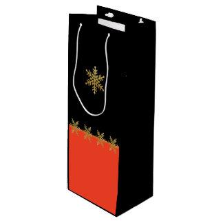 Sacola Para Vinho Saco do presente do vinho do Natal da tangerina