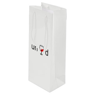 Sacola Para Vinho Saco do presente do vinho - Unwined