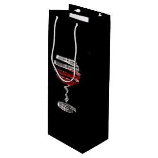 Sacola Para Vinho Saco estranho do presente do vinho do vidro de