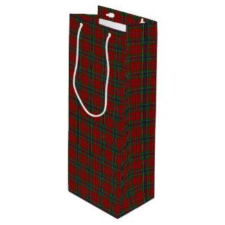 Sacola Para Vinho Tartan MacLean moderno escocês de Maclean de Duart