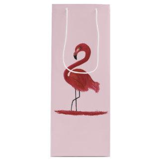 Sacola Para Vinho Trabalhos de arte do flamingo