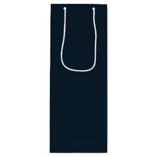 Sacola Para Vinho Três azuis marinhos dos homens sábios