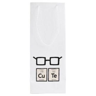 Sacola Para Vinho Vidros bonitos Zwp34 do nerd do elemento químico