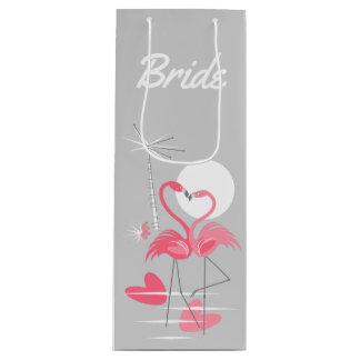 Sacola Para Vinho Vinho do saco do presente da noiva do amor do