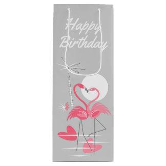 Sacola Para Vinho Vinho do saco do presente do feliz aniversario do