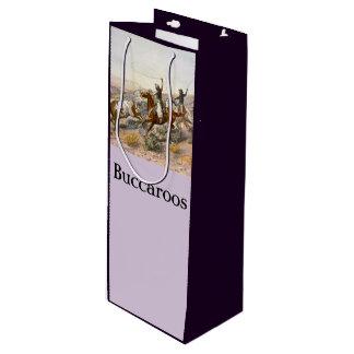 Sacola Para Vinho Vintage Buccaroos Charles Marion Russell