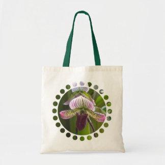 Sacola pequena da orquídea original bolsa tote