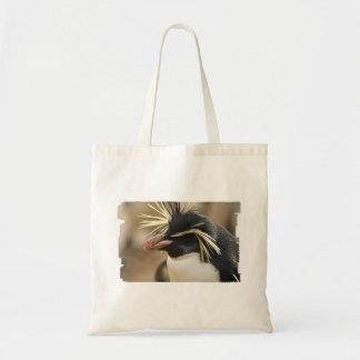 Sacola pequena do pinguim de Rockhopper Bolsa De Lona