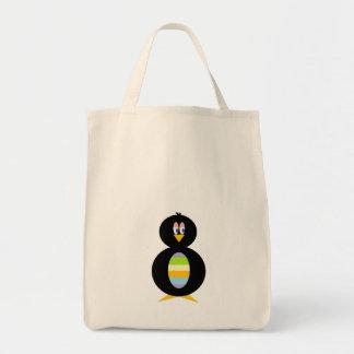 Sacola pequena feliz do pinguim bolsas