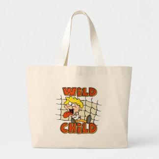 Sacola selvagem da criança dos miúdos bolsas