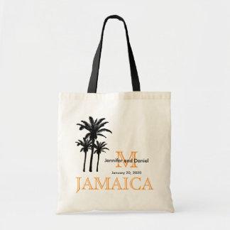 Sacolas Jamaica do casamento do destino Bolsa Tote