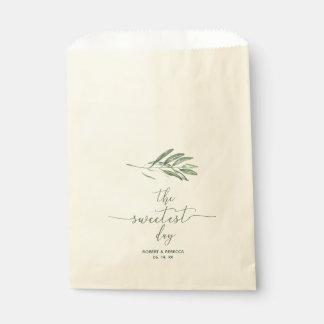 """Sacolinha A azeitona sae """"das bolsas do favor do casamento"""