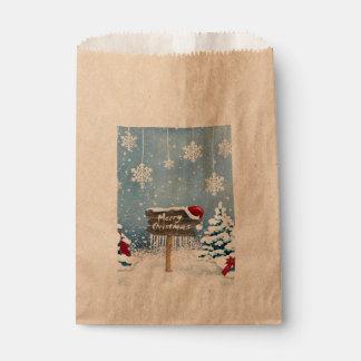 Sacolinha Arte do Natal - ilustrações do Natal