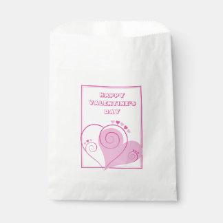 Sacolinha As bolsas cor-de-rosa feitas sob encomenda do