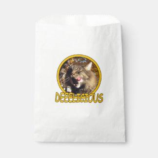 Sacolinha As bolsas deliciosas do favor do gatinho do animal