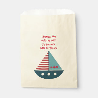 Sacolinha As bolsas do favor de partido nas bolsas náuticas