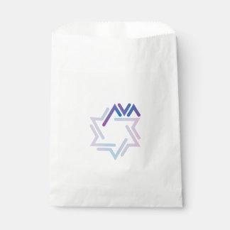 Sacolinha As bolsas do mitzvah do bastão de Ava