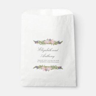 Sacolinha As bolsas elegantes do favor do casamento da