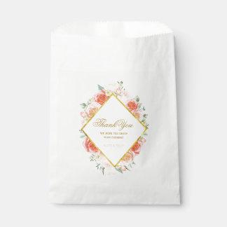 Sacolinha As bolsas elegantes do favor dos rosas (50)