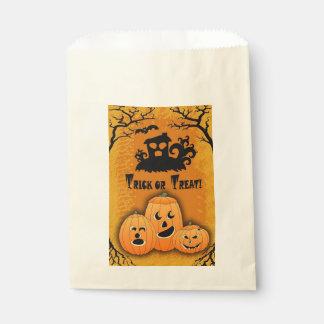 Sacolinha As bolsas engraçadas do deleite de Jack O'Lanterns