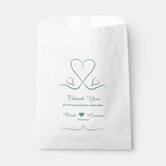 Sacolinha As bolsas feitas sob encomenda elegantes do favor
