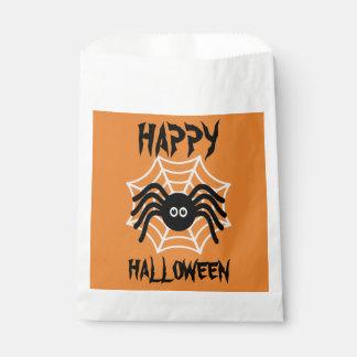 Sacolinha As bolsas felizes do favor da aranha do Dia das