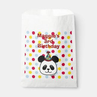 Sacolinha As bolsas grandes do favor do aniversário dos