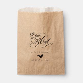Sacolinha As bolsas perfeitas do favor do casamento da