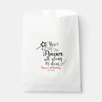 Sacolinha As bolsas pretas & brancas da onça de festa de