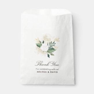 Sacolinha As bolsas românticas do favor do casamento da