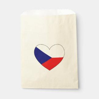 Sacolinha Bandeira da república checa simples
