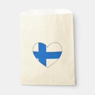 Sacolinha Bandeira de Finlandia simples