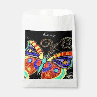 Sacolinha borboleta colorida Thunder_Cove