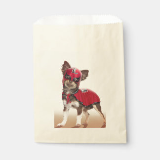 Sacolinha Cão do libre de Lucha, chihuahua engraçada,