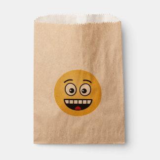 Sacolinha Cara de sorriso com boca aberta