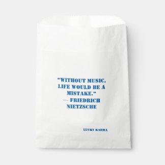 Sacolinha citações do saco de papel do favor