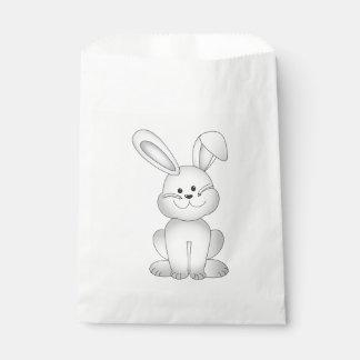 Sacolinha Clipart branco do coelho